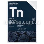 MISSHA Phytochemical Skin Supplement Sheet Mask Tannin/Purifying 2600 от магазина MIKSON